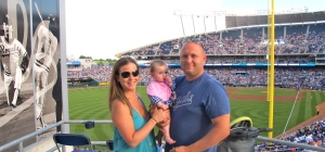 Maggie's 1st Royals Game